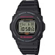 CASIO Uhr DW-5750E-1ER G-SHOCK Resin Digital rot schwarz
