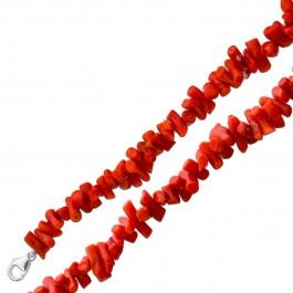 Antike rote Korallenkette 40-er Jahren echt rot Koralle Orange