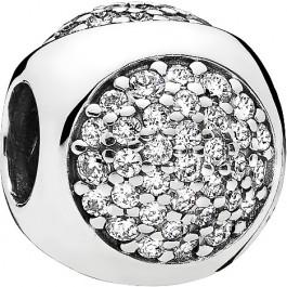 Pandora Charm 796214CZ Sterling Silber 925 Glitzerndes Tröpfchen klare Cubic Zirkonia