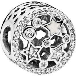 PANDORA Charms 796373CZ Glanzvolle Sterne Sterling Silber 925