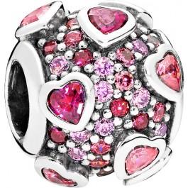 PANDORA Charms 796555CZSMX Glücksgefühle Sterling Silber 925