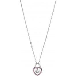 PANDORA Halskette 396583FPC-60 Kette mit Anhänger Liebesversprechen 60cm Länge