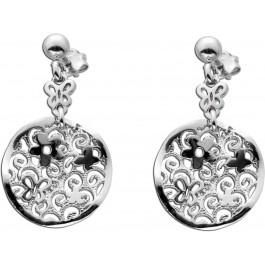 Ohrstecker Blumen Silber 925 Schmetterling Ohrringe Ohrhänger