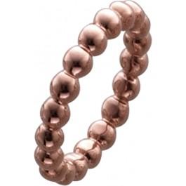 Ring Sterling Silber 925 rosèvergoldet poliert