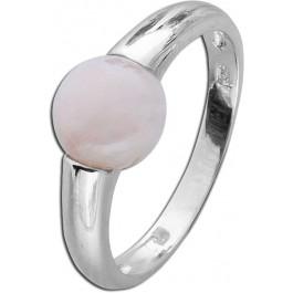 Rosa Edelstein Ring T-Y Silber 925 Rosenquarz Toyo-Yamamoto