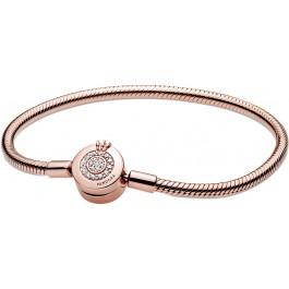Pandora Signature Collection Armband 589046C01 Pandora Moments Sparkling Crown Rose