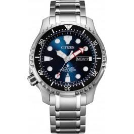 Citizen Promaster NY0100-50ME Professionelle Automatik Taucheruhr ISO 6425 Titan Mineralglas