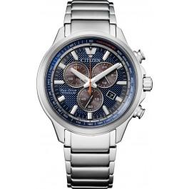 Citizen AT2470-85L Solar Chronograph Herrenuhr Titan Saphirglas