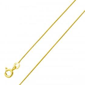 Kette halsreifartig Gelbgold 333 massiv poliert