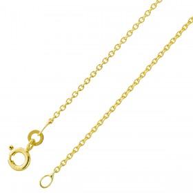 Erbskette Goldkette 333 Gelbgold massiv