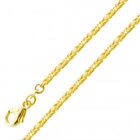 Kette Königskette Gelbgold 585 massiv