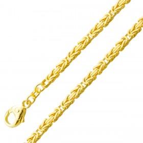 Kette Königskette Gelbgold 585/- massiv