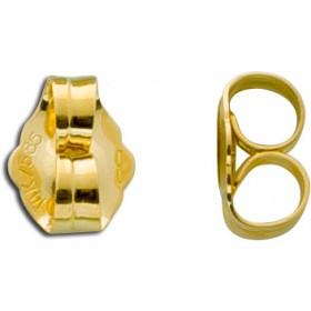 Ohrringe - Ohrmutternpaar 585 Gelbgold