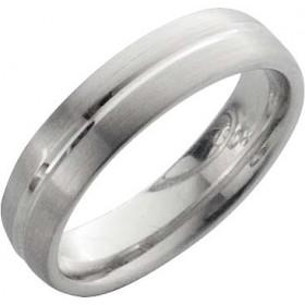 Trauring in Weißgold 18k 750/-, Breite 6,0mm, Stärke 2,1mm der Ring ist matt poliert, die Gravur der Trauringe sowie das Etui erhalten Sie kostenlos und bei diesen einfarbigen Trauringen - Eheringen ist auch der kostenlose Auffrischungsservice beinhaltet.