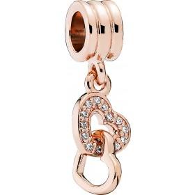 Pandora Charm Anhänger 781242CZ rose vergoldet klare Cubic Zirkonia
