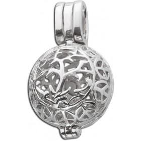 Kugel-Anhänger Sterling Silber 925 öffenbar/ befüllbar