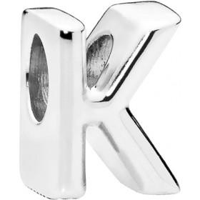 PANDORA Charms 797465 Alphabet Buchstaben K Silber 925