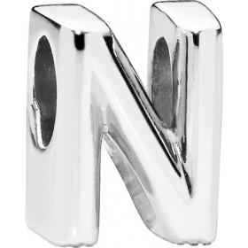 PANDORA Charms 797468 Alphabet Buchstabe N Silber 925