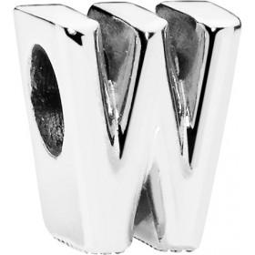 PANDORA Charms 797477 Alphabet Buchstaben W Silber 925