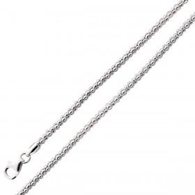 Popcornkette - Silberkette Sterling Silber 925/-