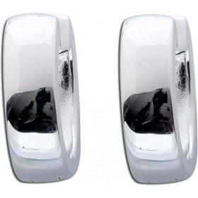 Ohrringe - Klappcreolen 13x4,2mm Silber 925