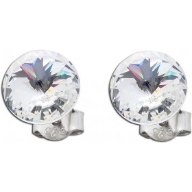 Ohrringe - Ohrstecker Swarovski Elements klar Silber Sterling 925