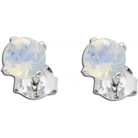 Ohrringe Ohrstecker Sterling Silber 925 äthiopischer Opal Edelstein