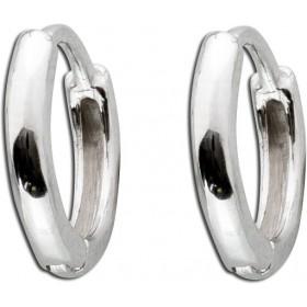 Klappcreolen/ Helix Piercing Sterling Silber 925 poliert