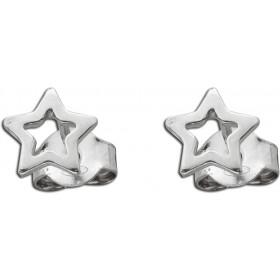 Stern Ohrstecker Sterling Silber 925 poliert Damenschmuck Kinderschmuck