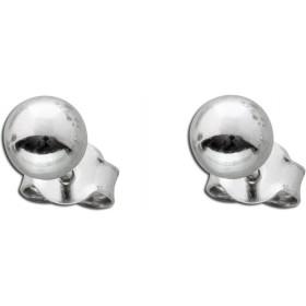 Kugel Ohrstecker Sterling Silber 925 poliert