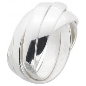 Ring Sterling Silber 925  fünf ineinander bewegliche Ringe