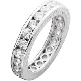 Memoire Ring Silber 925 Zirkonia