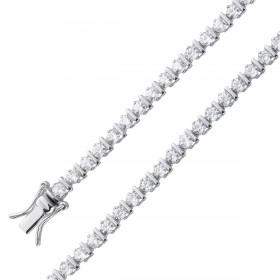 Zirkonia Tennisarmband Sterling Silber 925