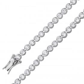Tennisarmband Sterling Silber 925 Zirkonia