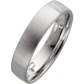 Weißgold in 14k 585/-, Breite 5,0mm, Stärke 1,4mm der Ring ist komplett mattiert, die Gravur der Trauringe sowie das Etui erhalten Sie kostenlos und bei diesen einfarbigen Trauringen - Eheringen ist auch der kostenlose Auffrischungsservice beinhaltet. Sel