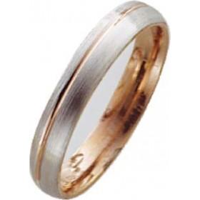 Trauring in Weißgold 585/- / Rotgold 585/-, Breite 4,0mm, Stärke 1,6mm. Die Gravur der Trauringe sowie das Etui erhalten Sie kostenlos dazu und bei diesen einfarbigen Trauringen - Eheringen ist auch der kostenlose Auffrischungsservice beinhaltet. Selbstve