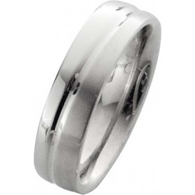 Trauring in Weißgold 14k 585/-, Breite 6,0mm, Stärke 2,1mm der Ring ist hochglanz poliert, die Gravur der Trauringe sowie das Etui erhalten Sie kostenlos und bei diesen einfarbigen Trauringen - Eheringen ist auch der kostenlose Auffrischungsservice beinha
